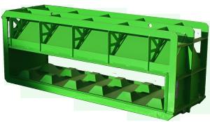 Dakmodelmal dachmodell Moule Mould 180x60x60 / 90°