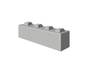 Europeblock blok 160x40x40