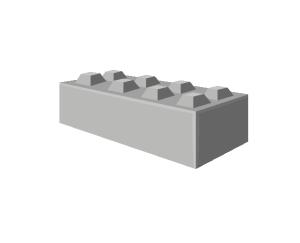 Europeblock blok 160x80x40